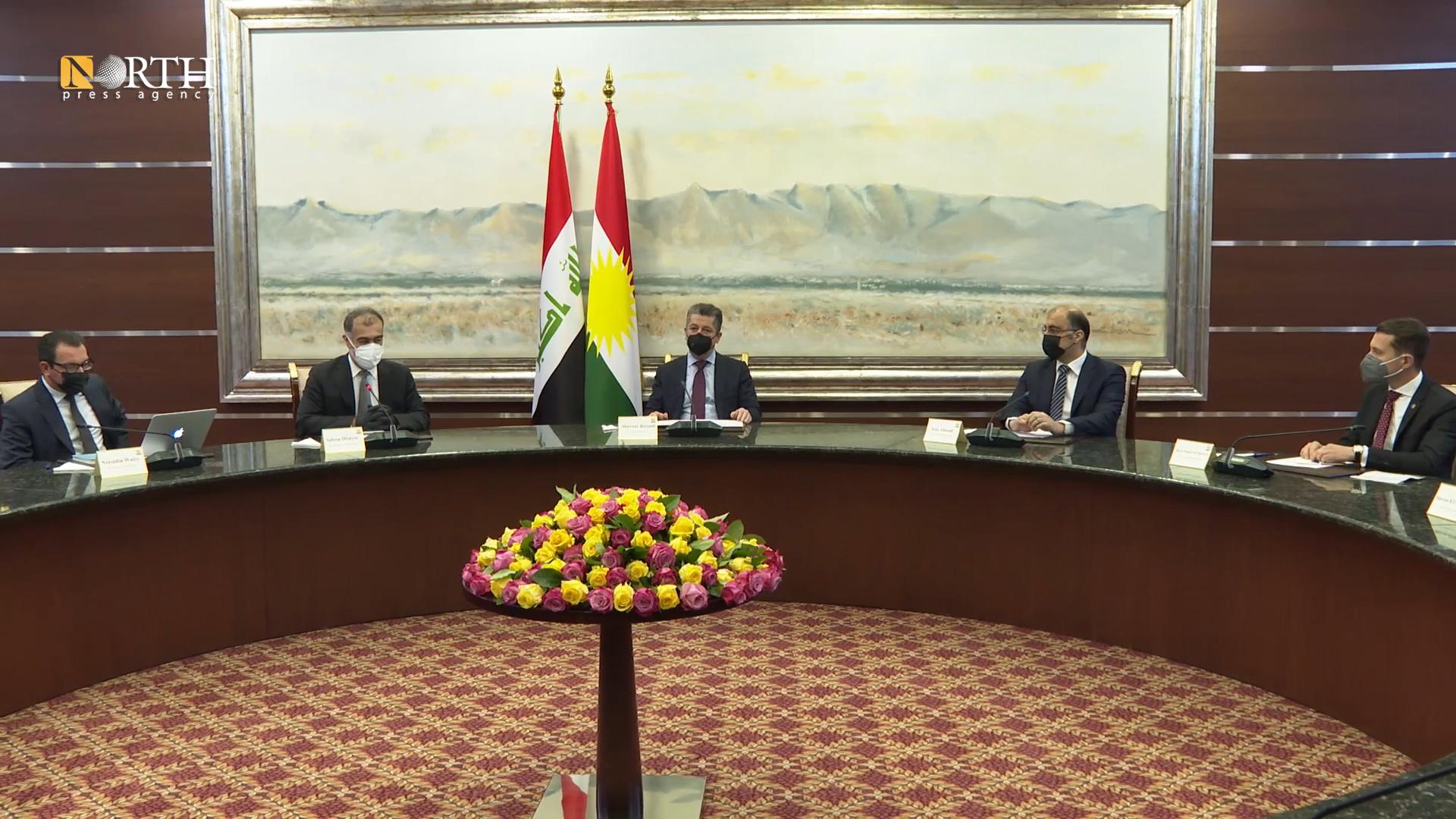 Photo of KRG Prime Minister meets EU consuls and representatives in Erbil
