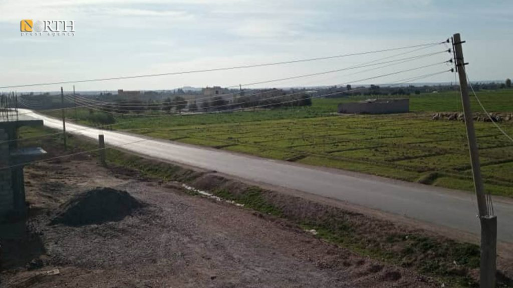Main road in the town of Muhaimida - North Press / Archive