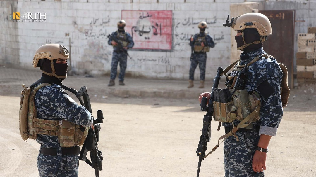 Members of the Special Tasks Units affiliated with the Asayish-North Press