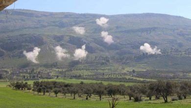 Photo of Government forces bomb opposition sites in Syria's northwest