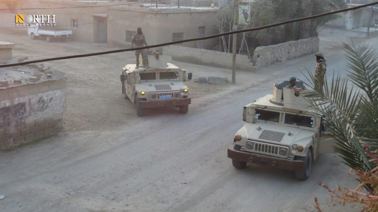 SDF checkpoint in al-Shuhail town, east Deir ez-Zor – North Press