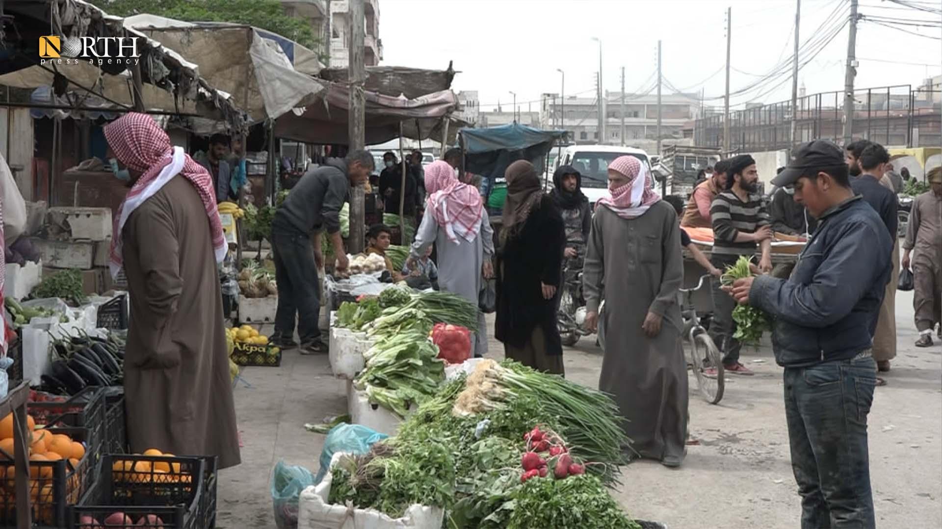 Shopping in al-Hal Market in Manbij – North Press