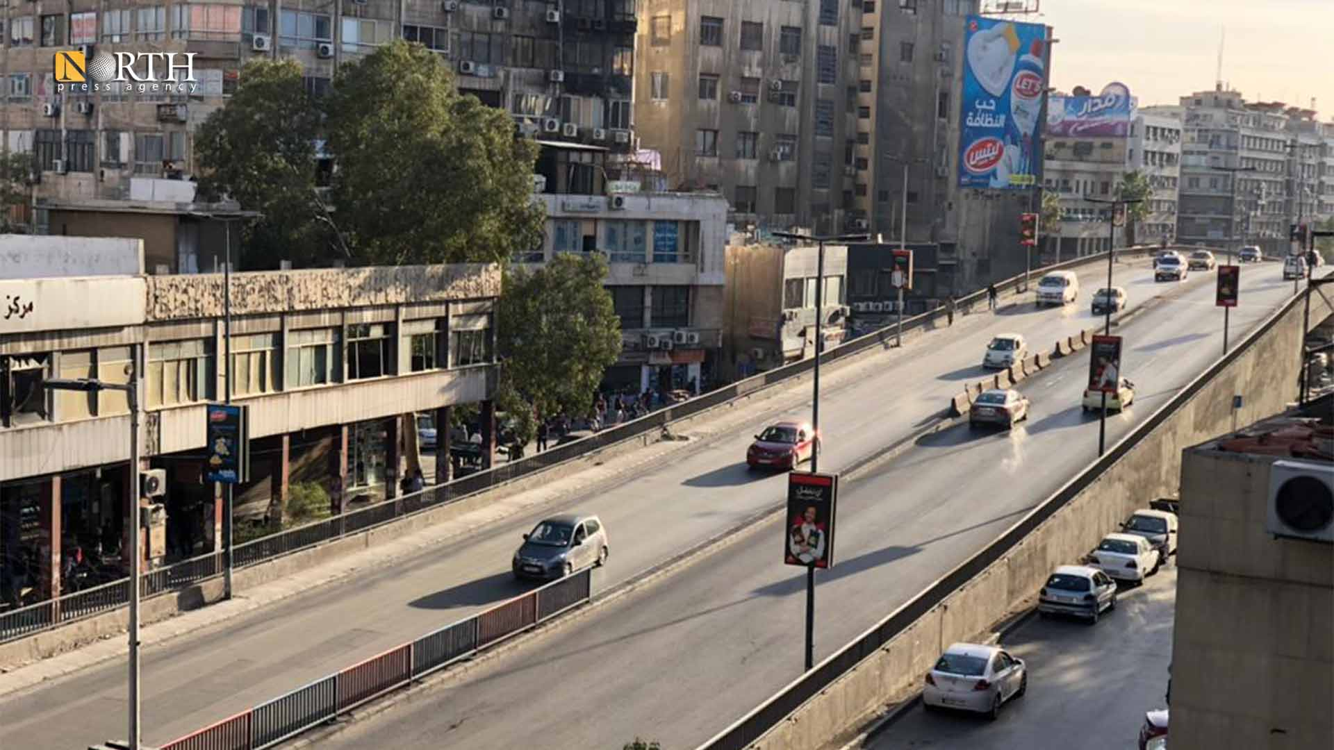 Victoria Bridge in central Damascus - North Press