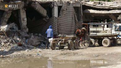 Photo of Two men injured by landmine in Syria's Palmyra