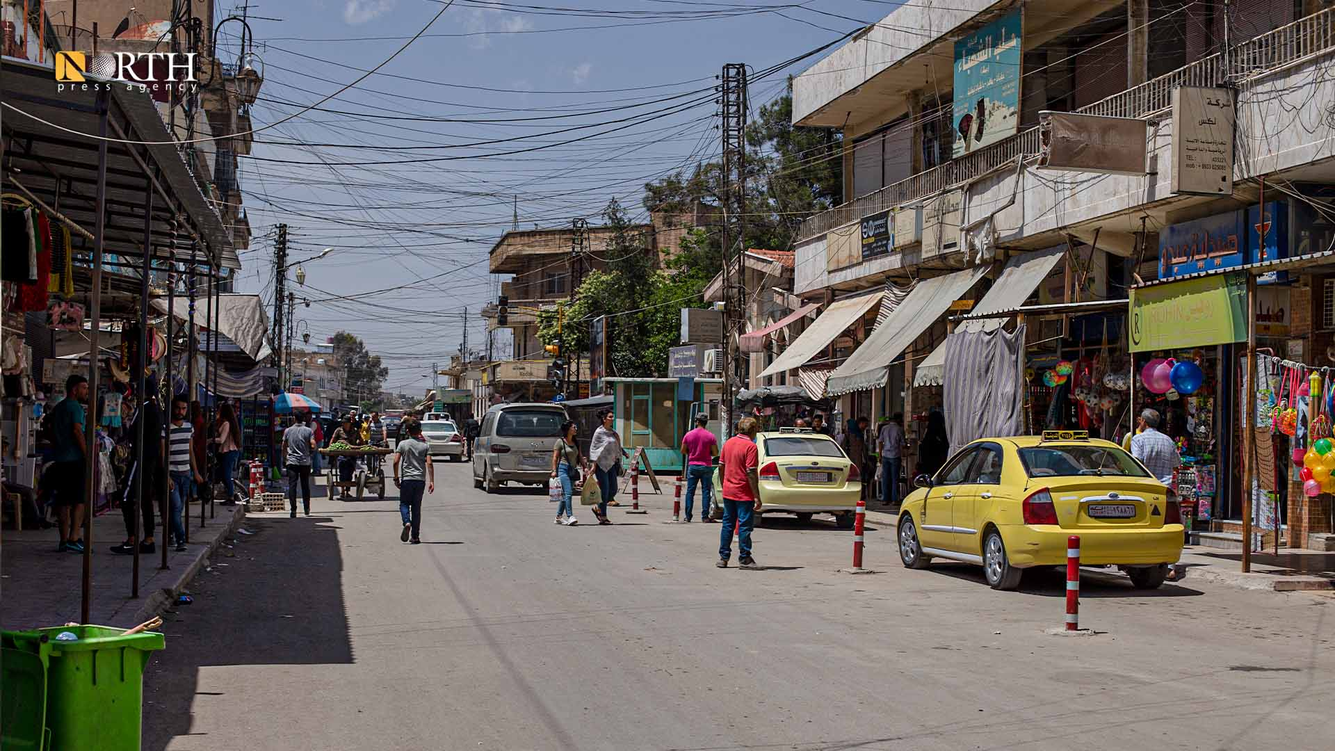 Municipality Street in the city of Qamishli – North Press