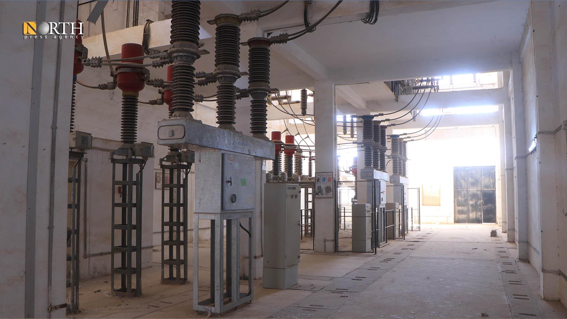 Al-Ghazel electric station in Hasakah – North Press.