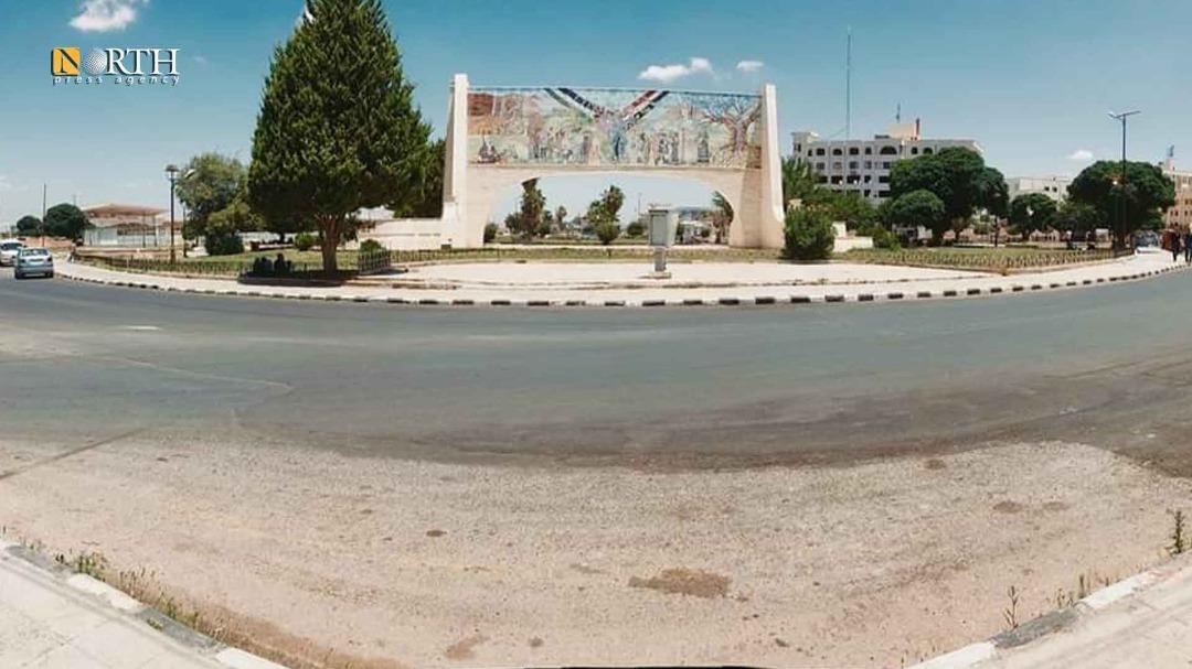 Al-Panorama Roundabout in the region of Daraa al-Mahatta – North Press