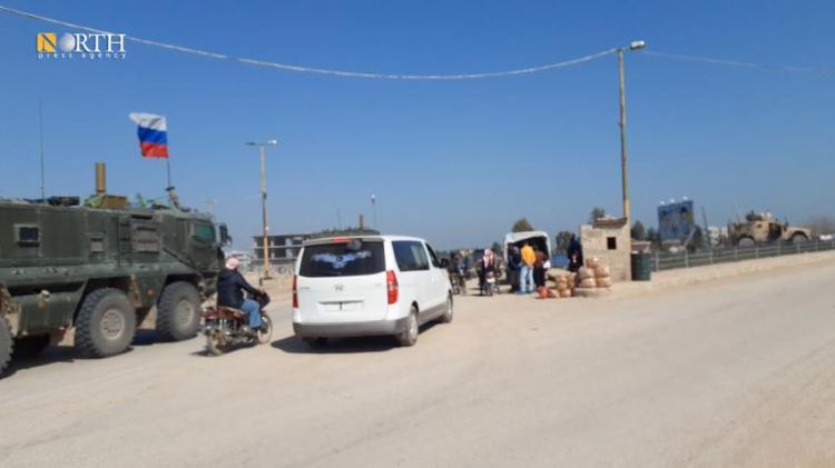 American forces intercept a Russian convoy in Tel Tamr - North Press