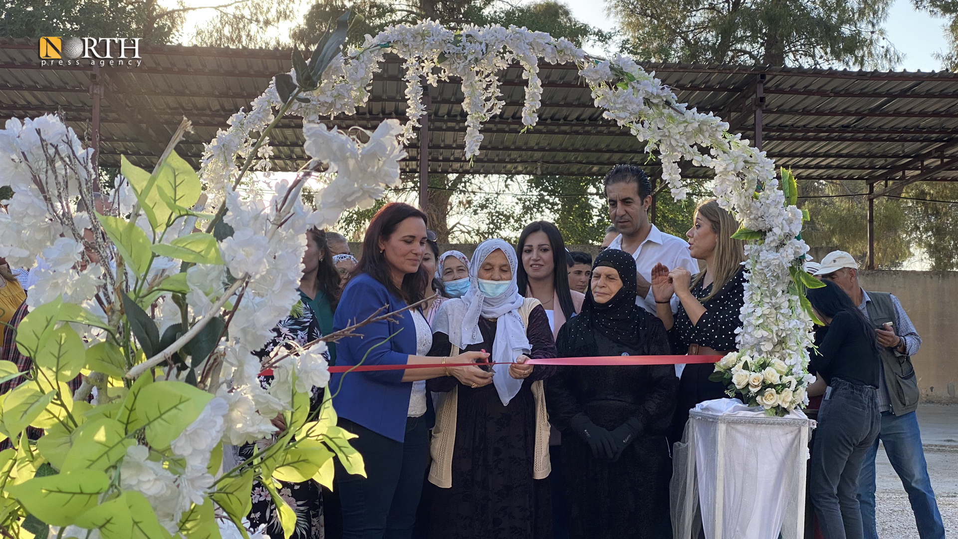 Derik - Opening first cheese and dairy factory in northeast Syria - North Press