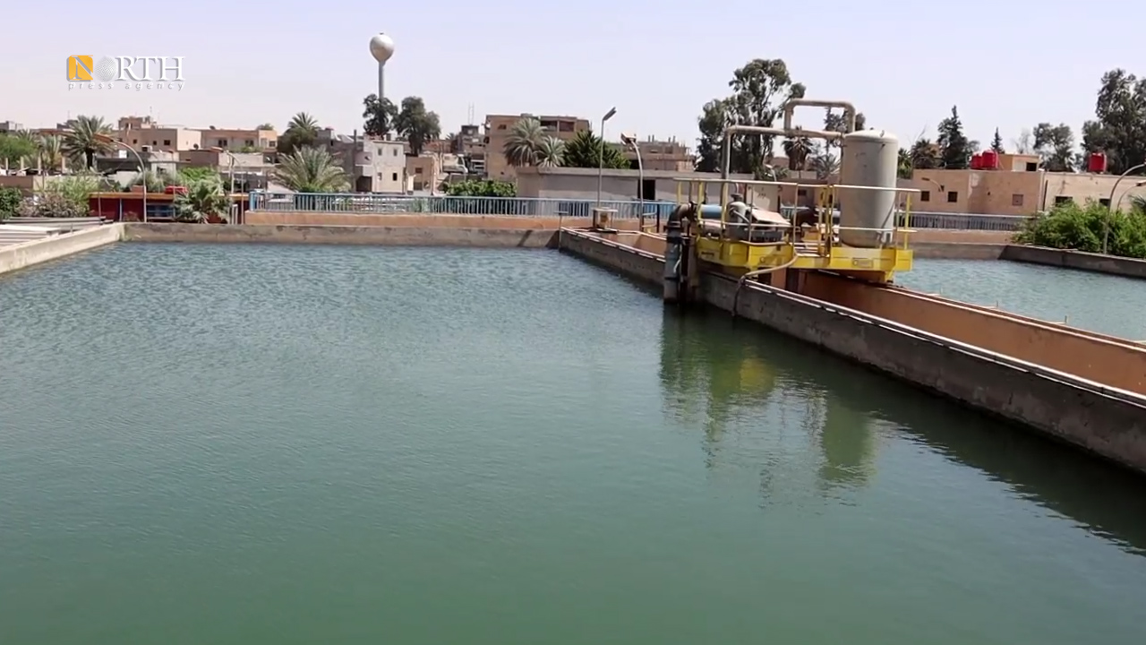 Drinking water station in Deir ez-Zor countryside is out of service due to Turkey's seizure of the Euphrates – North Press