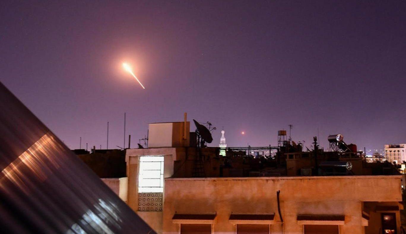 Israeli airstrikes against Syrian coast.