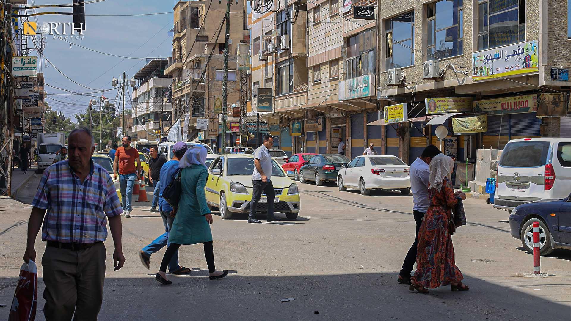 Main Street in the city of Qamishli – North Press