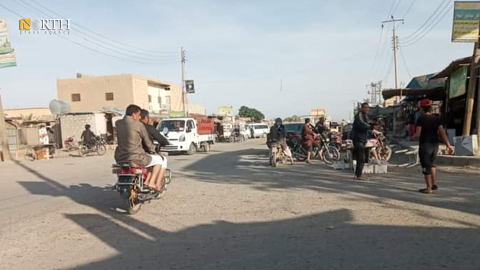 Main street of al-Shuhail town – North Press