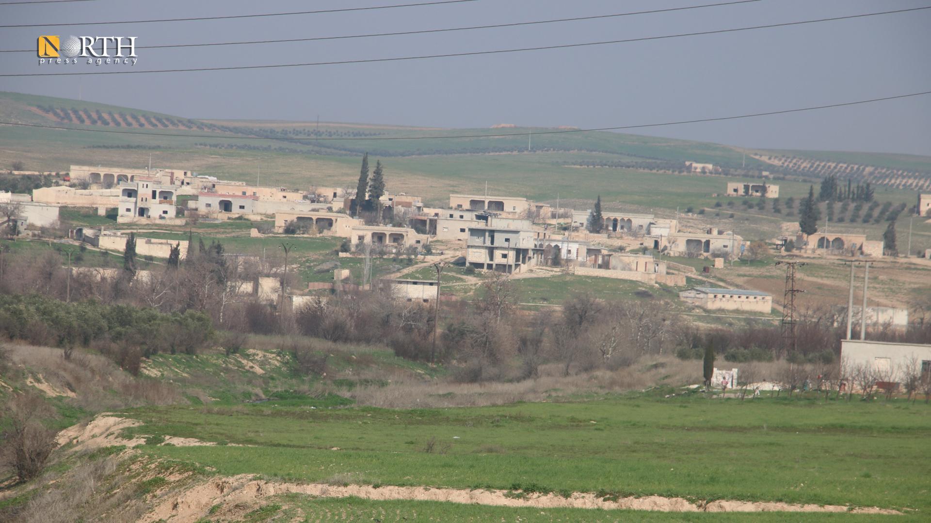 The village of al-Jat, north Manbij – North Press.
