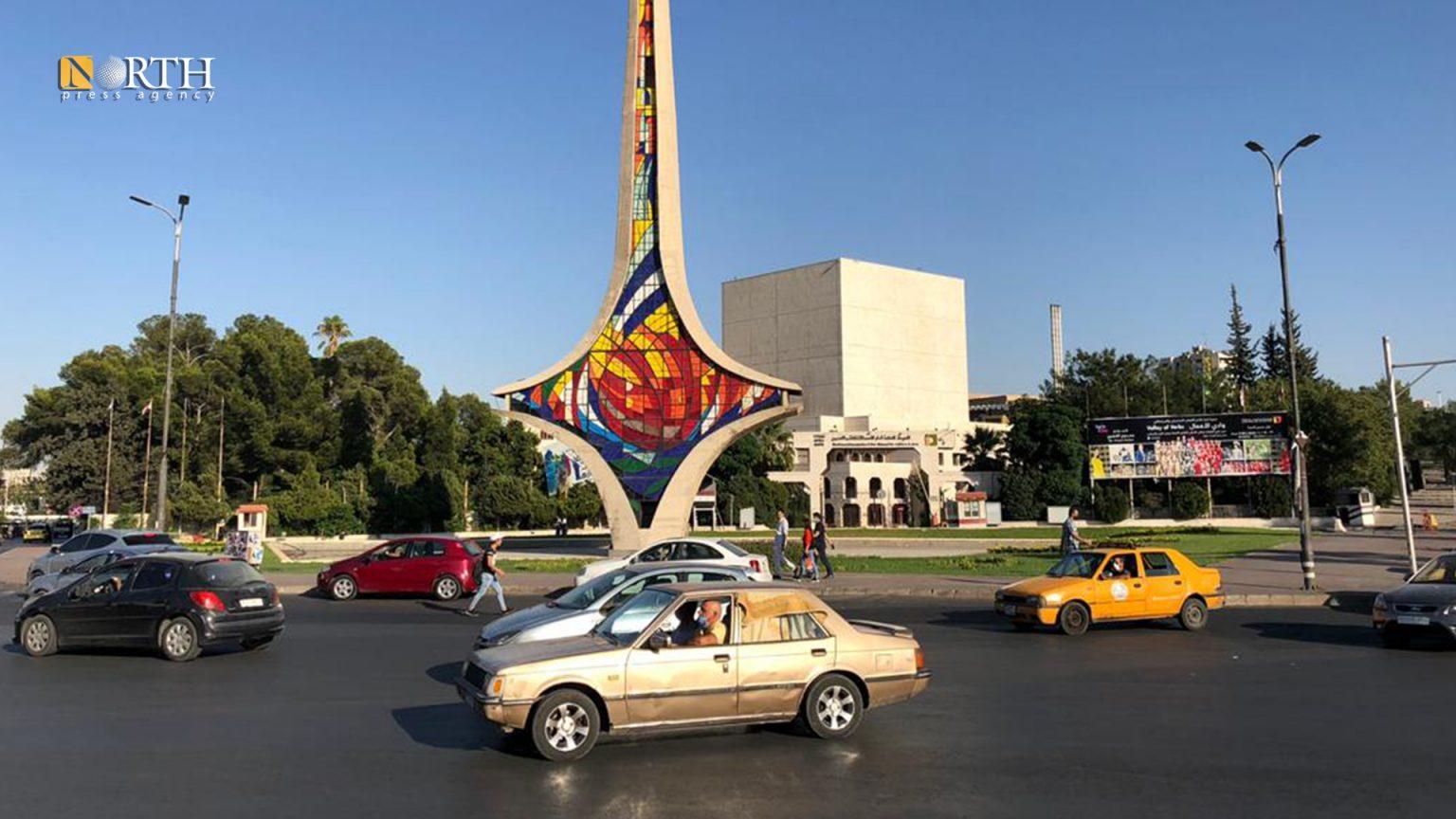 Umayyin Square in Damascus - North Press