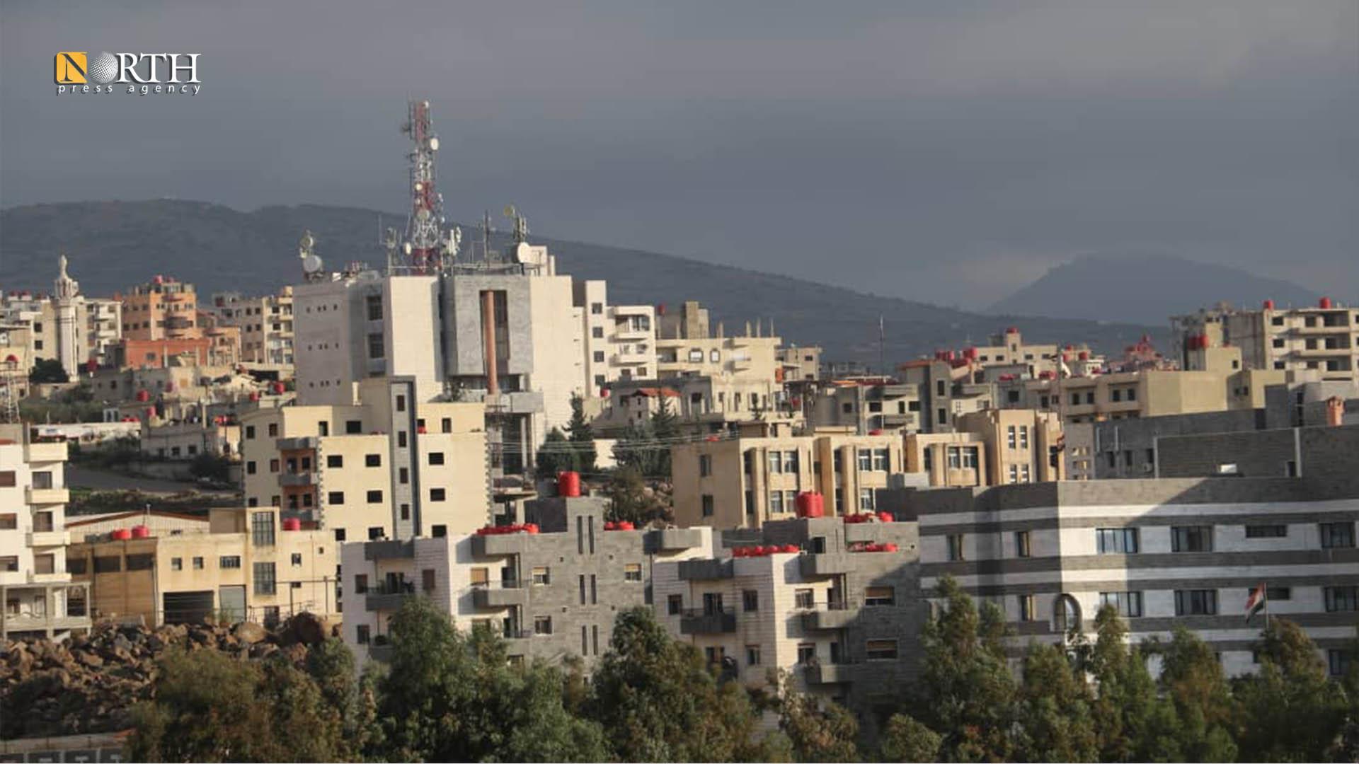 the city of Suwayda - North Press