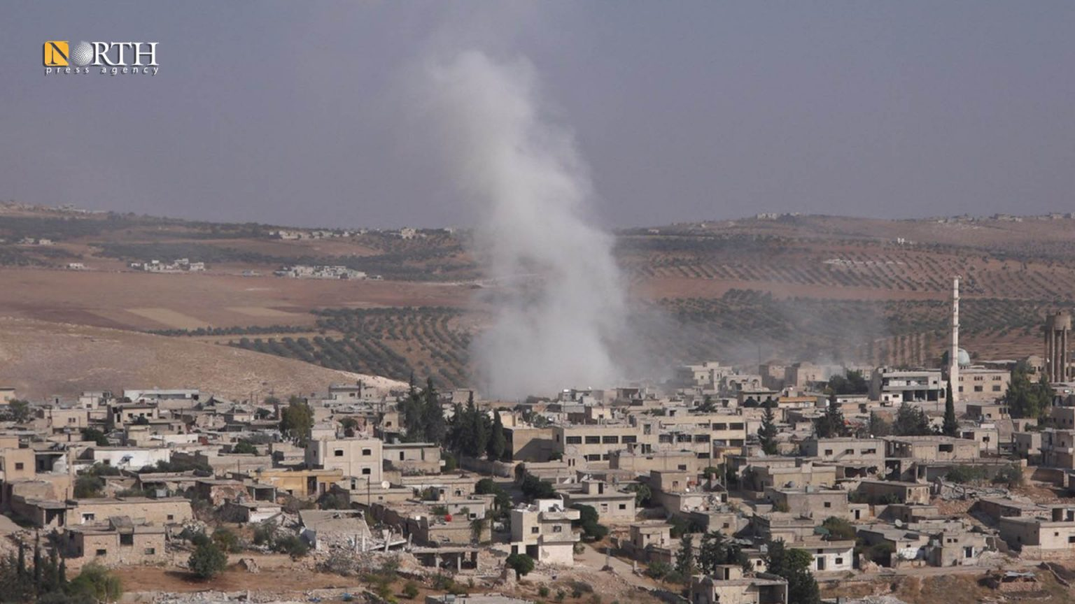 Previous shelling on Idlib southern countryside – North Press/archive