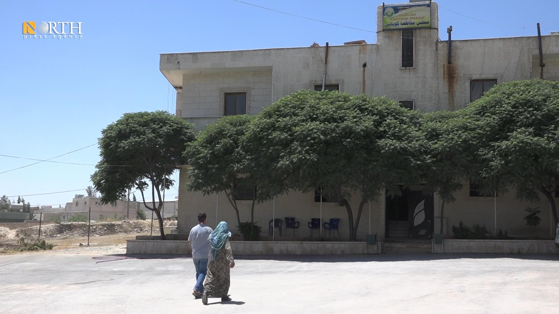 Autonomous Administration building in Kobani, northern Syria – North Press