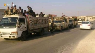 Photo of Iranian militias evacuate after Israeli raids in Syria's Deir ez-Zor