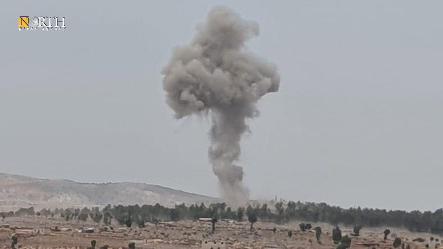 Idlib – bombardment on a village in Zawiya Mountain region – North Press/archive