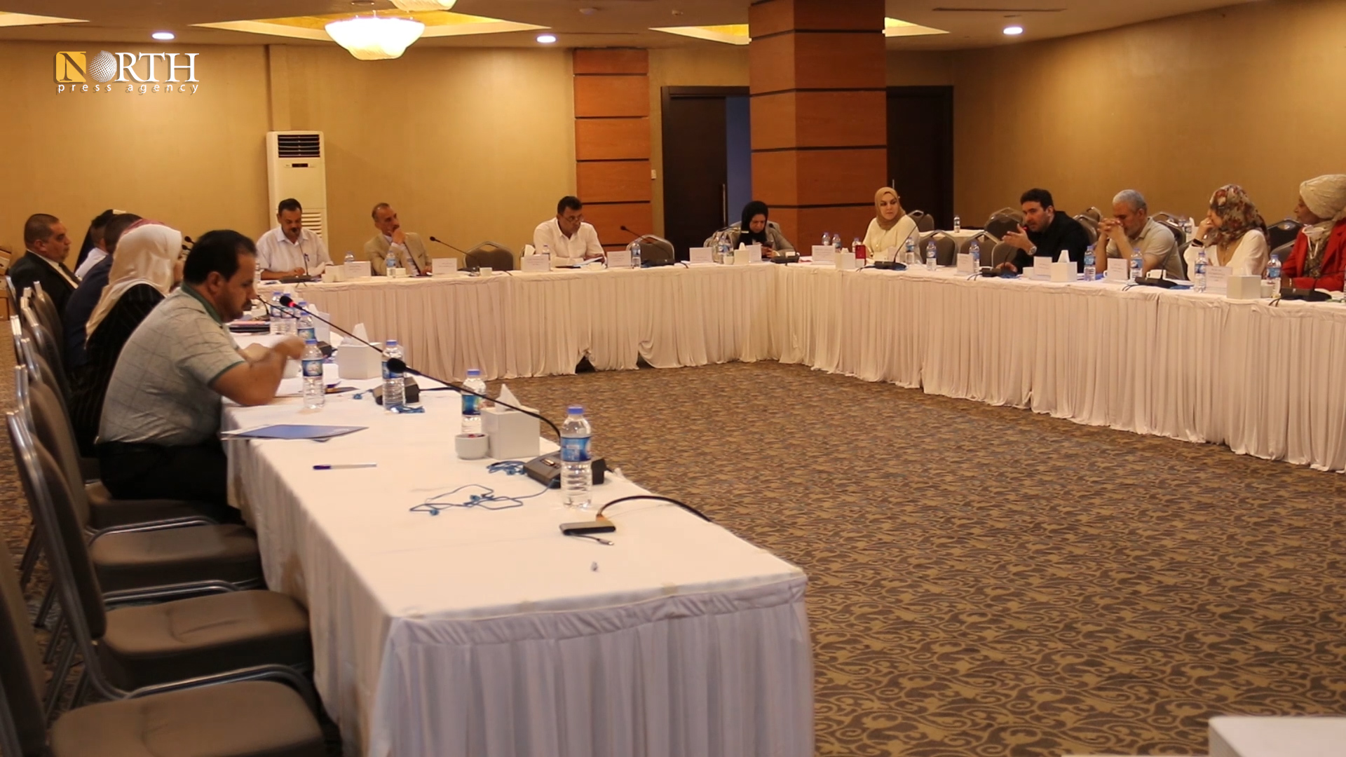 Iraqi officials holding press conference in Erbil – North Press