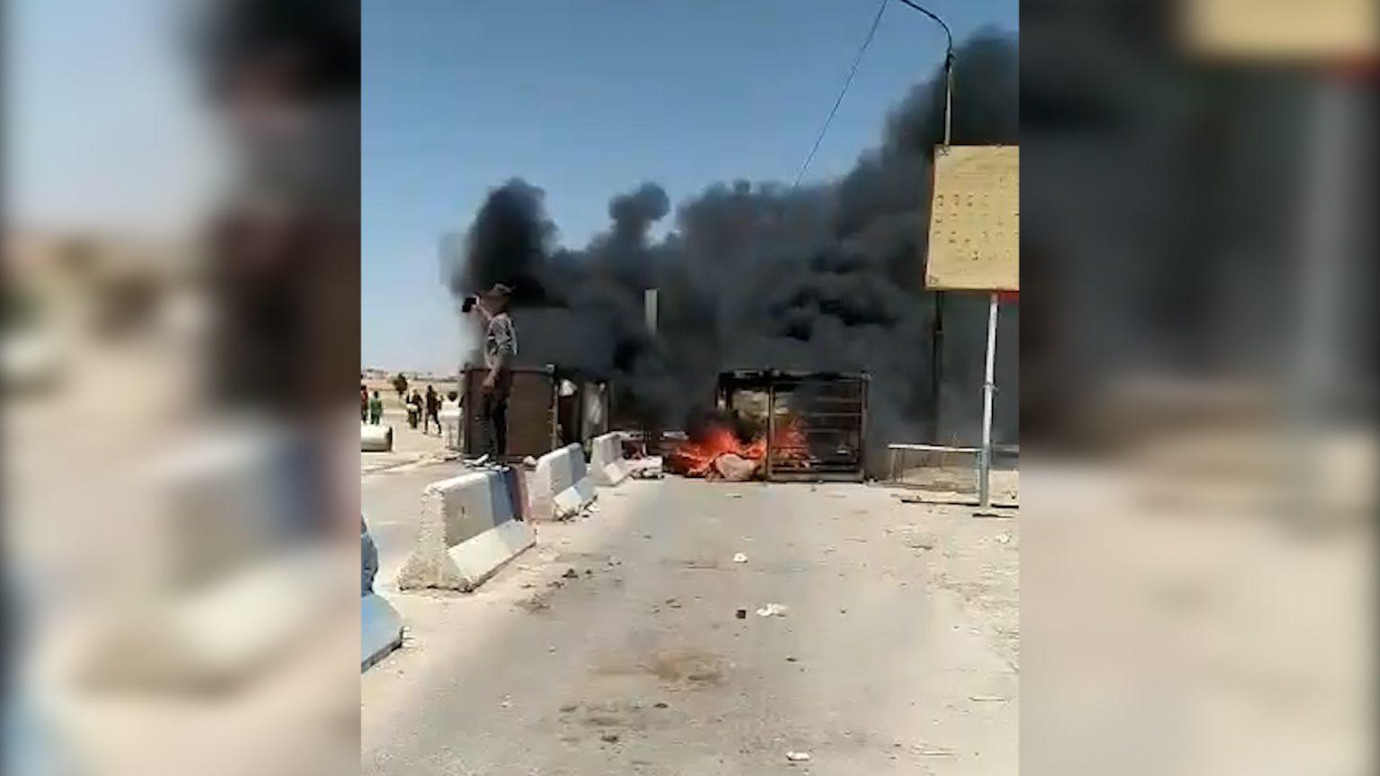 Protests in al-Shaddadi, south of Hasakah -North Press