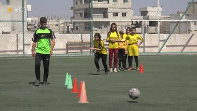 Photo of First football league for women held in Syria's Kobani