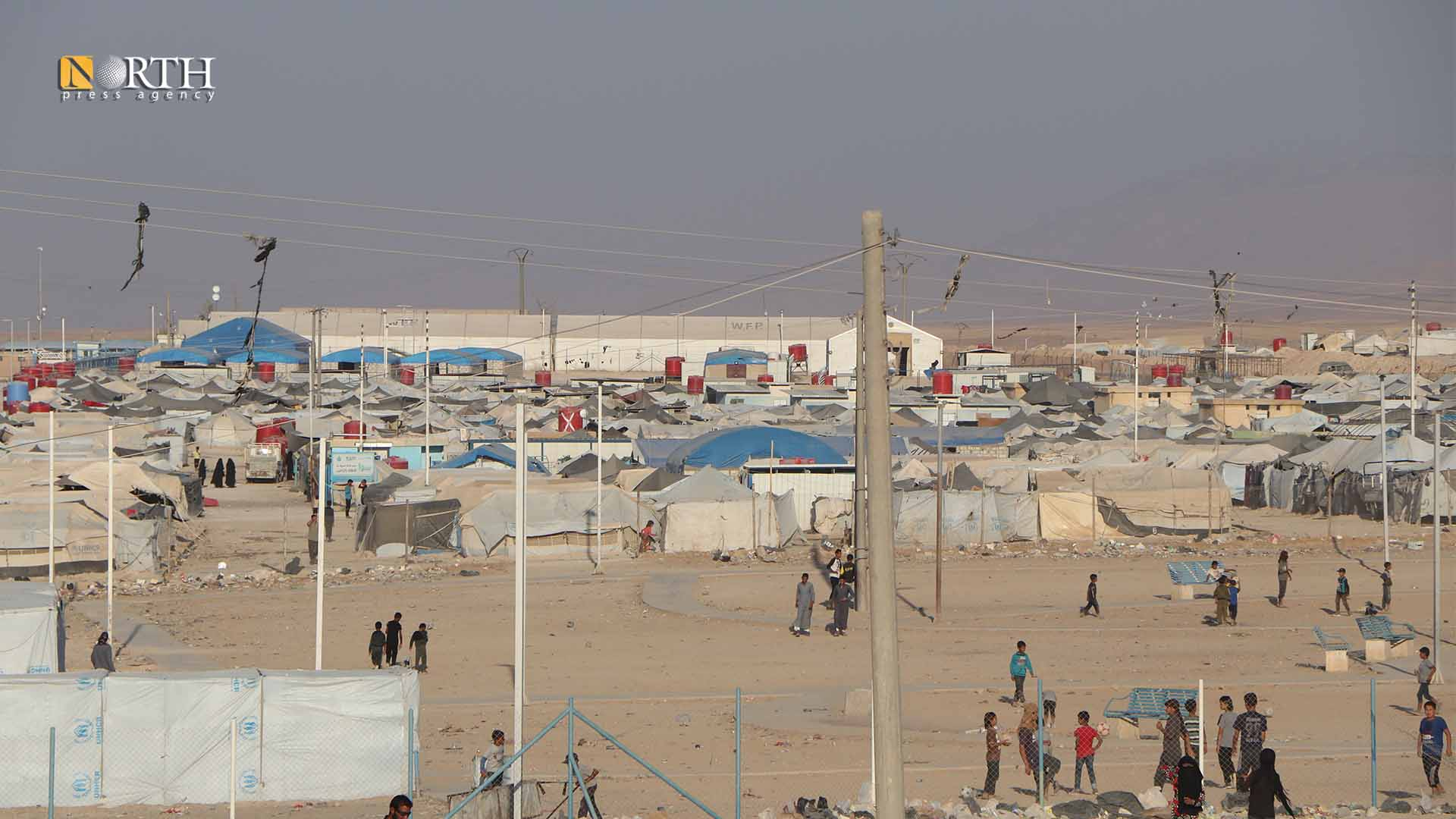 Hawl Camp in Hasakah countryside – North Press