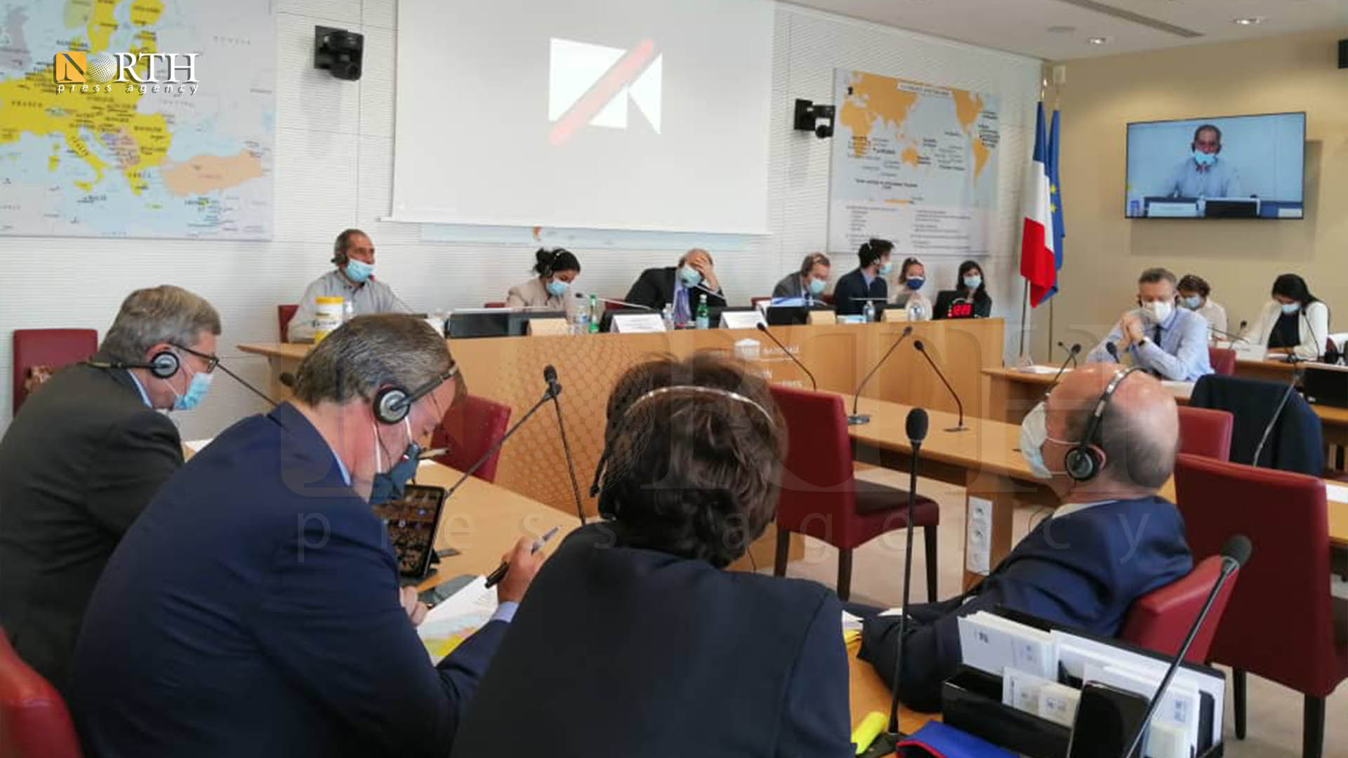 A delegation from the AANES met with the Chairman of the Foreign Relations Committee of the French Parliament in Paris – North Press