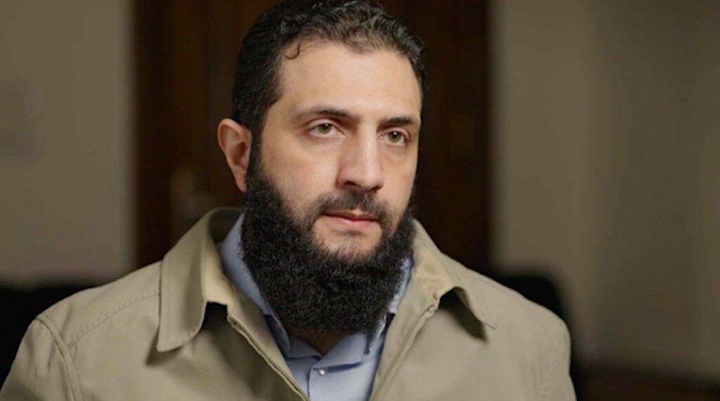 Abu Muhammad al-Julani, the leader of Hayat Tahrir al-Sham