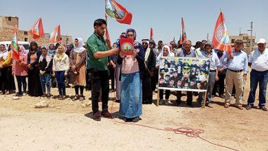 Photo of Syrian IDPs recall 2013 massacre by ISIS & al-Nusra