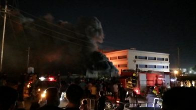 Photo of 114 dead, wounded in Iraqi hospital fire
