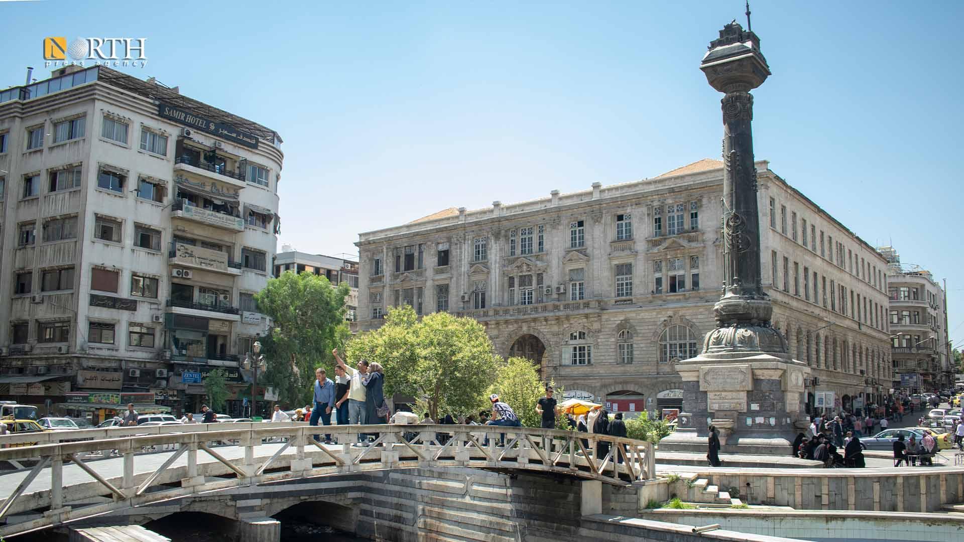 The Marjeh Square in Damascus – North Press
