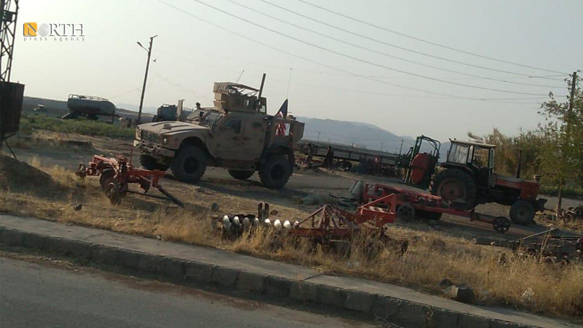 American patrol in the countryside of Derik – North Press