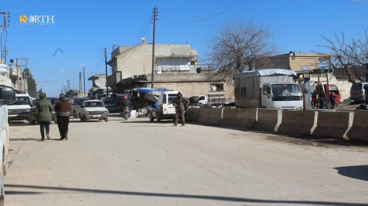 The city of Tel Rifa'at, north Aleppo countryside – North Press, archive.