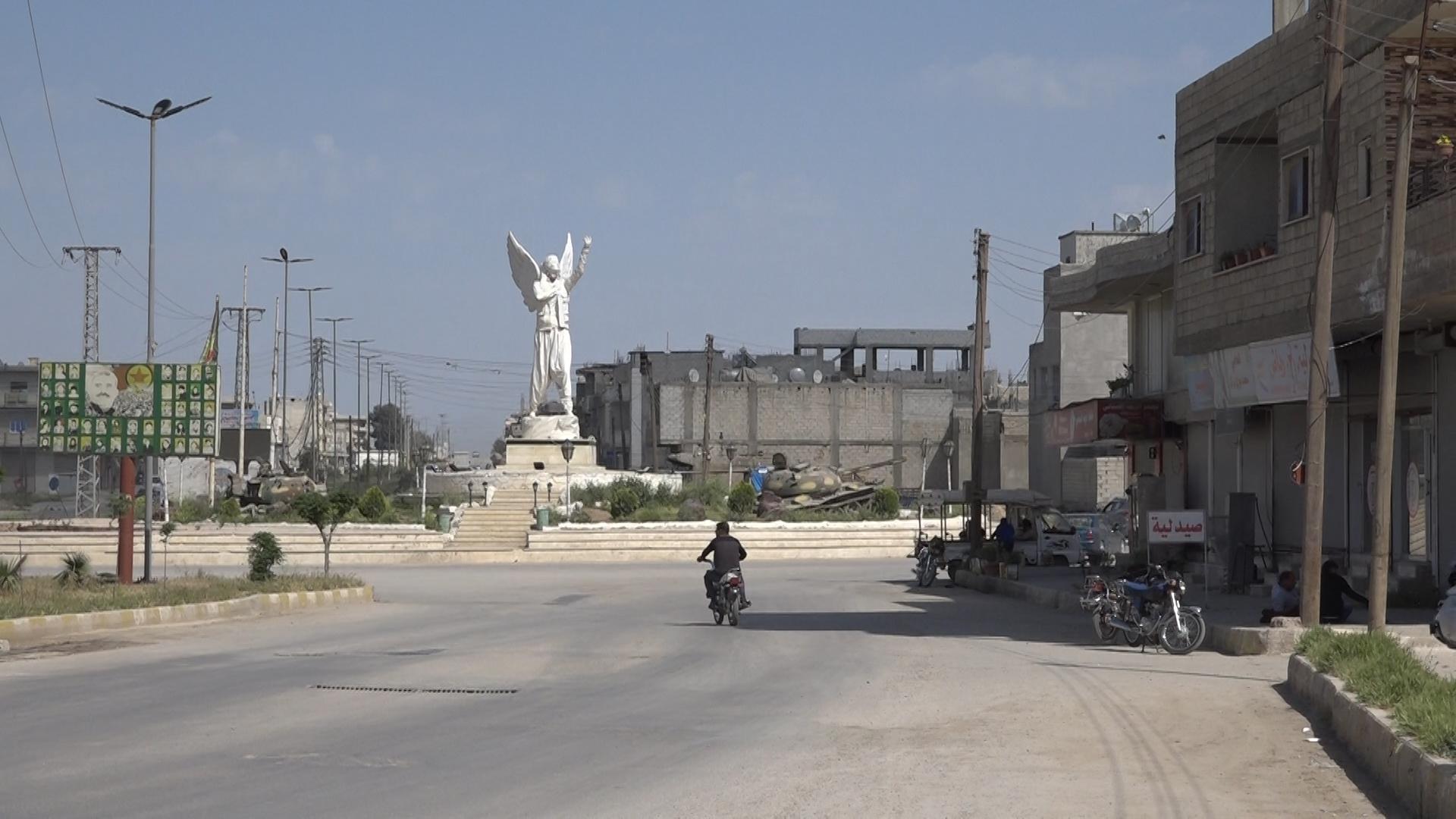 Woman Roundabout in Kobani – North Press