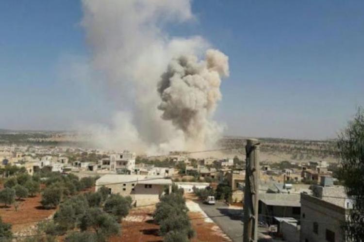 government artillery shelling on Zawiya Mountain south of Idlib- North Press