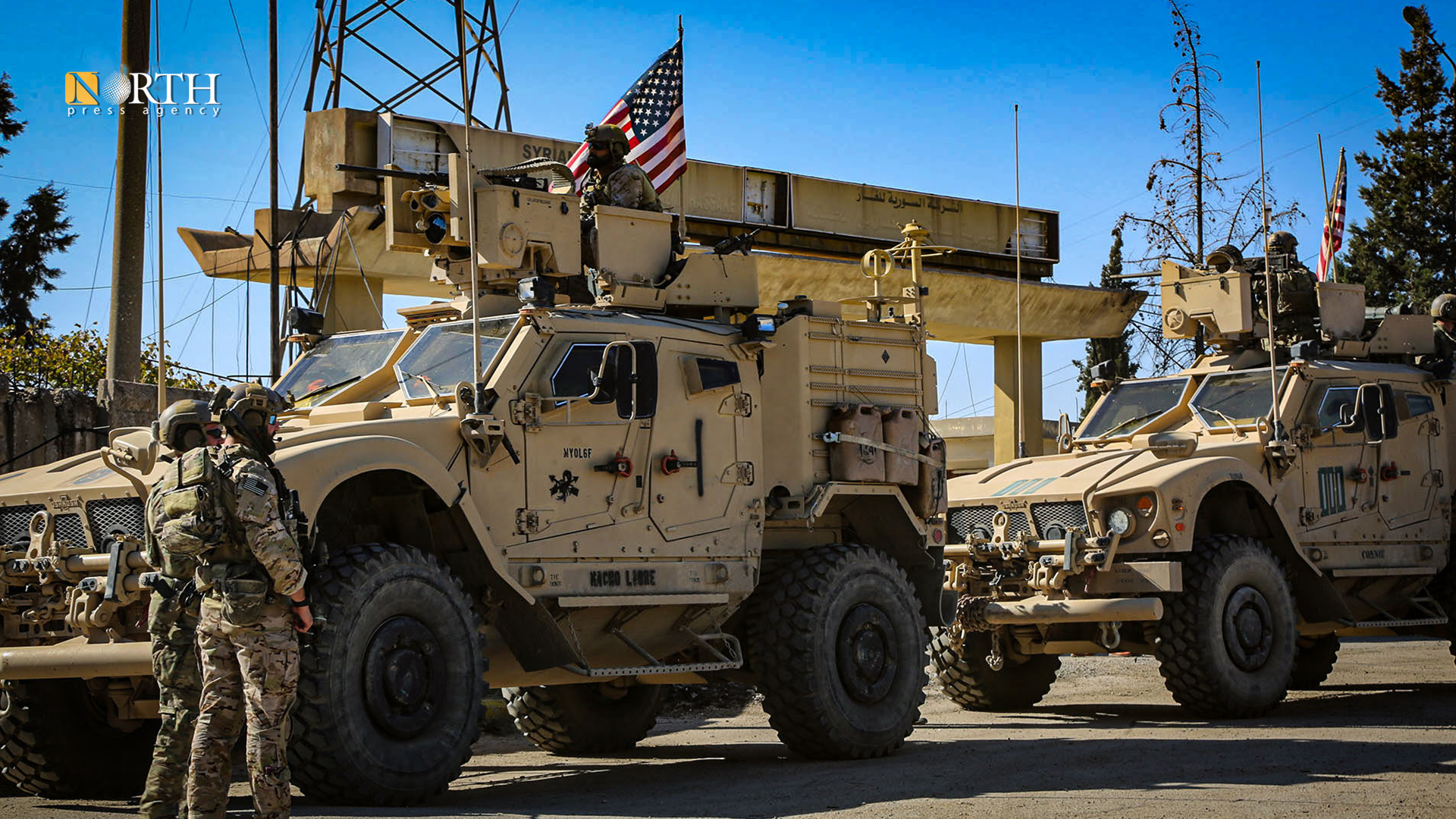 American patrol in northeastern Syria – North Press