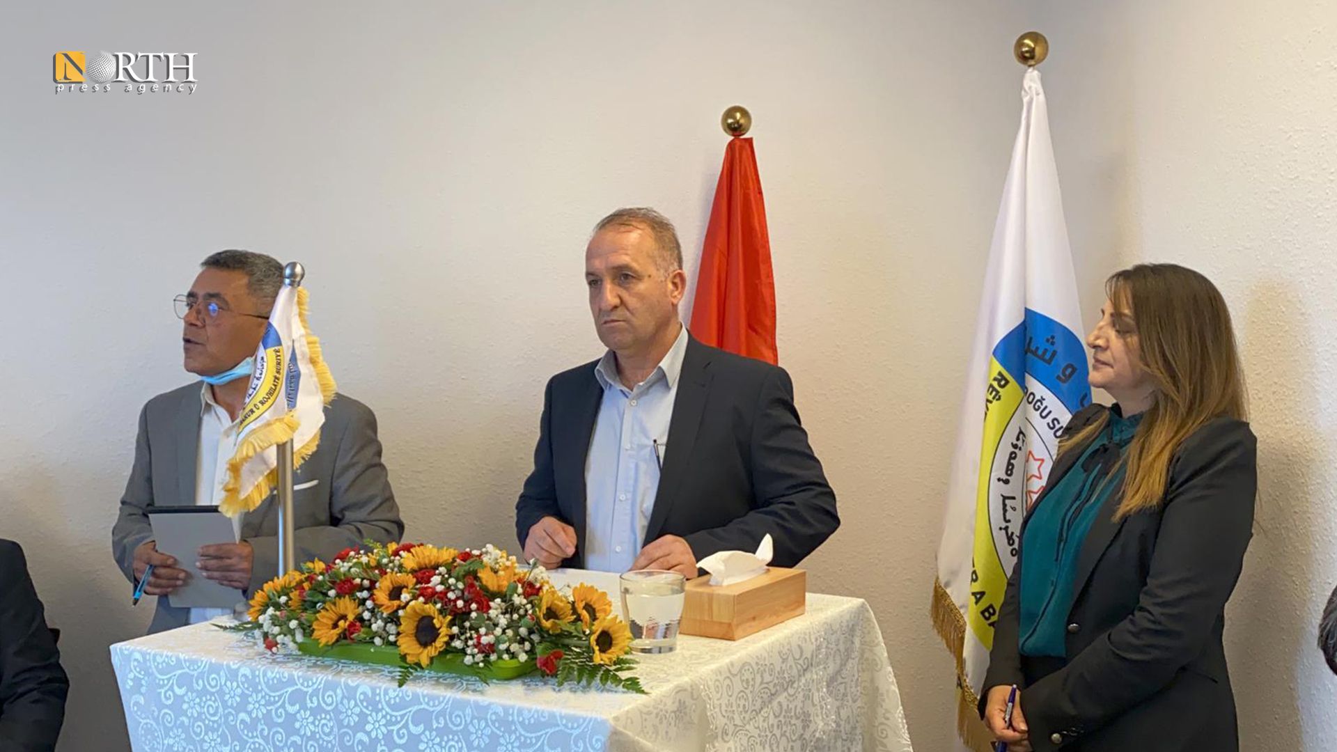 Opening the office of the Autonomous Administration in Switzerland – North Press