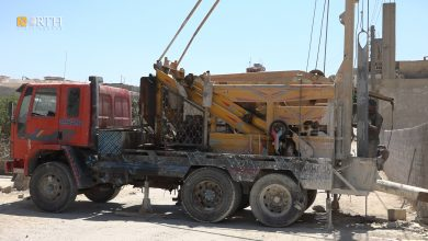 Photo of Syria's Kobani drills wells amid sharp decline of Euphrates