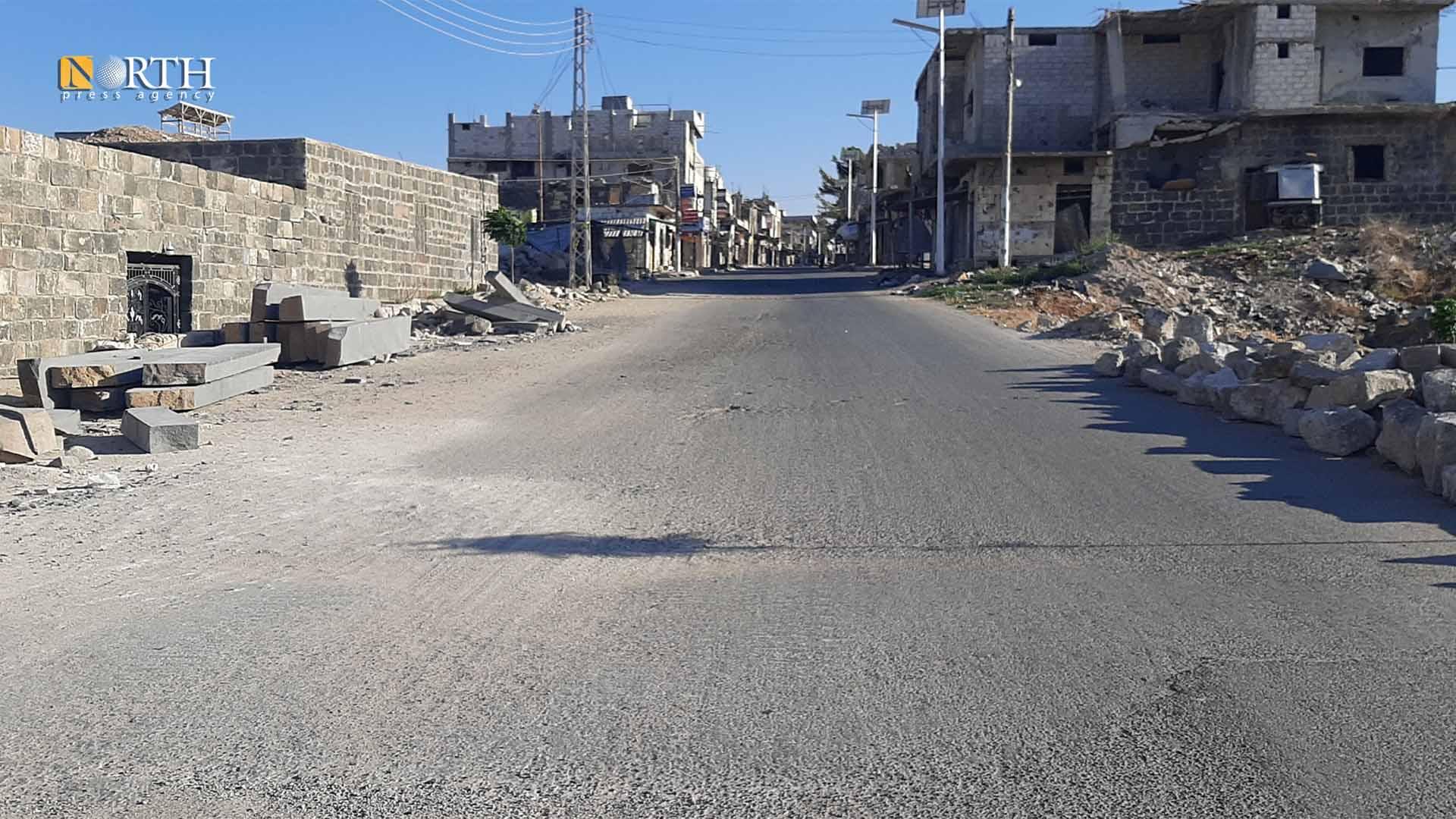 The vicinity of al-Omari Mosque in Daraa al-Balad – North Press/archive
