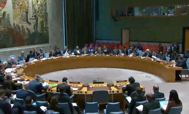 Former session of Security Council on Syria
