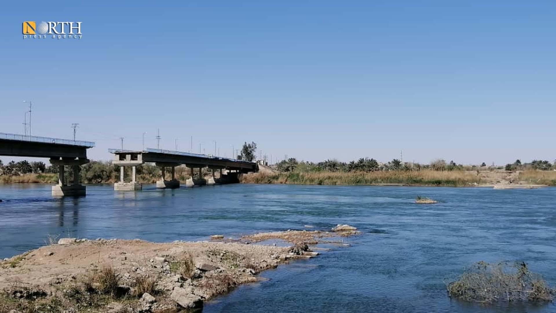 al-Bukamal Bridge in the town of al-Baghouz - North-Press