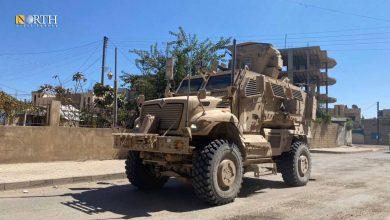 Photo of US Forces patrol Syria's Derik