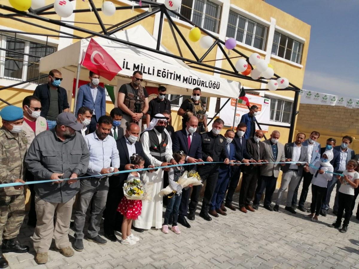 A school opened by Turkey in Tel Abyad last year.