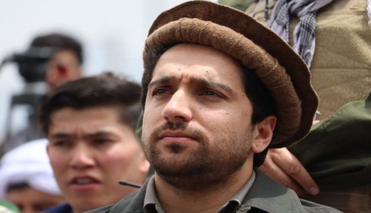 Ahmad Shah Masoud, the leader of the National Resistance Front of Afghanistan