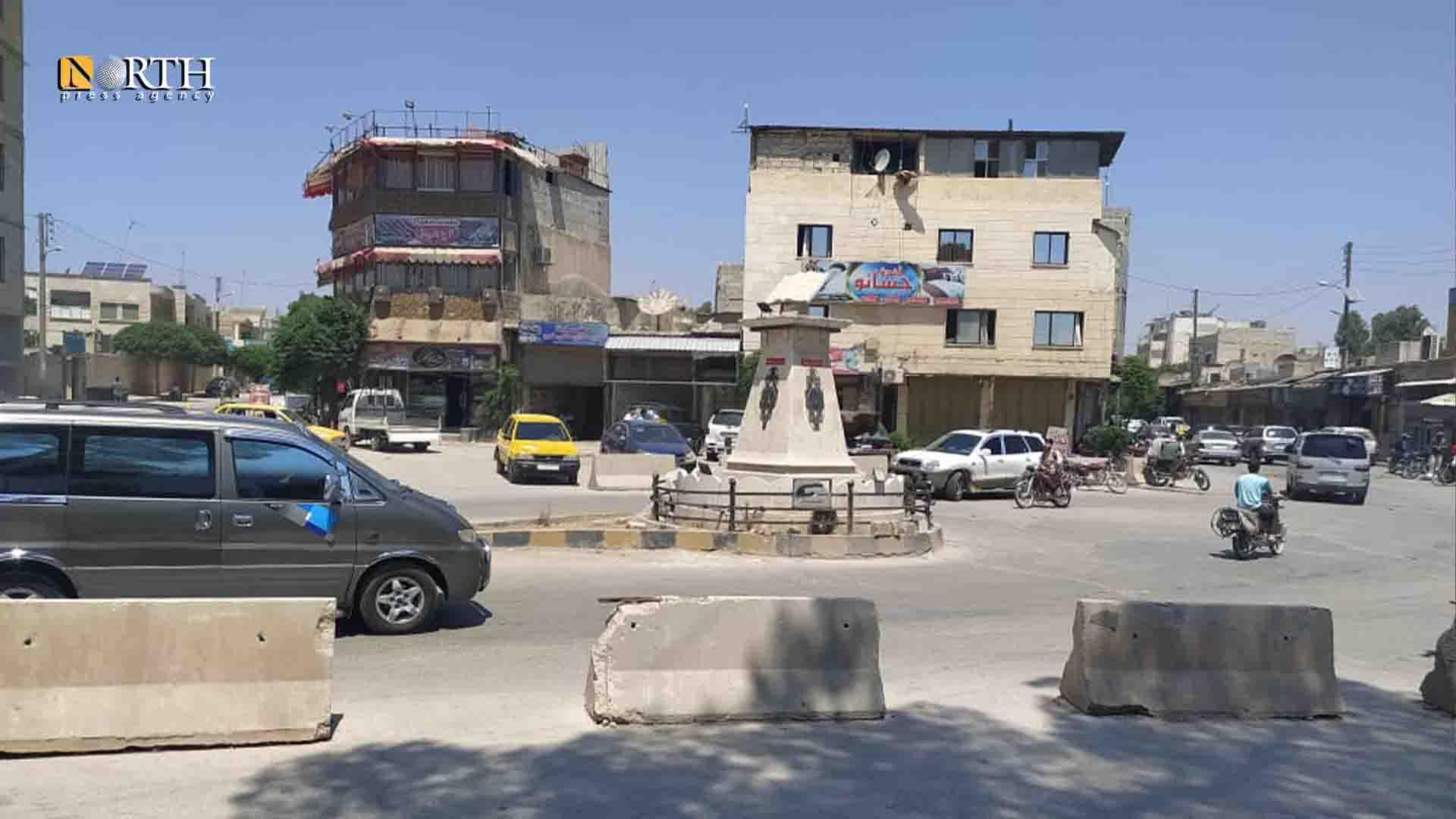 Azaz – al-Madina Souk gate - North Press