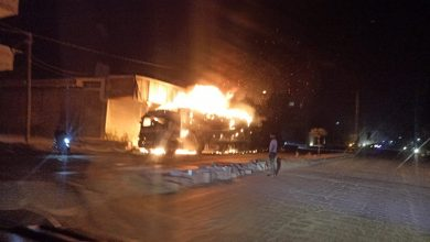 Photo of IED explodes in Turkish truck in Syria's east of Aleppo