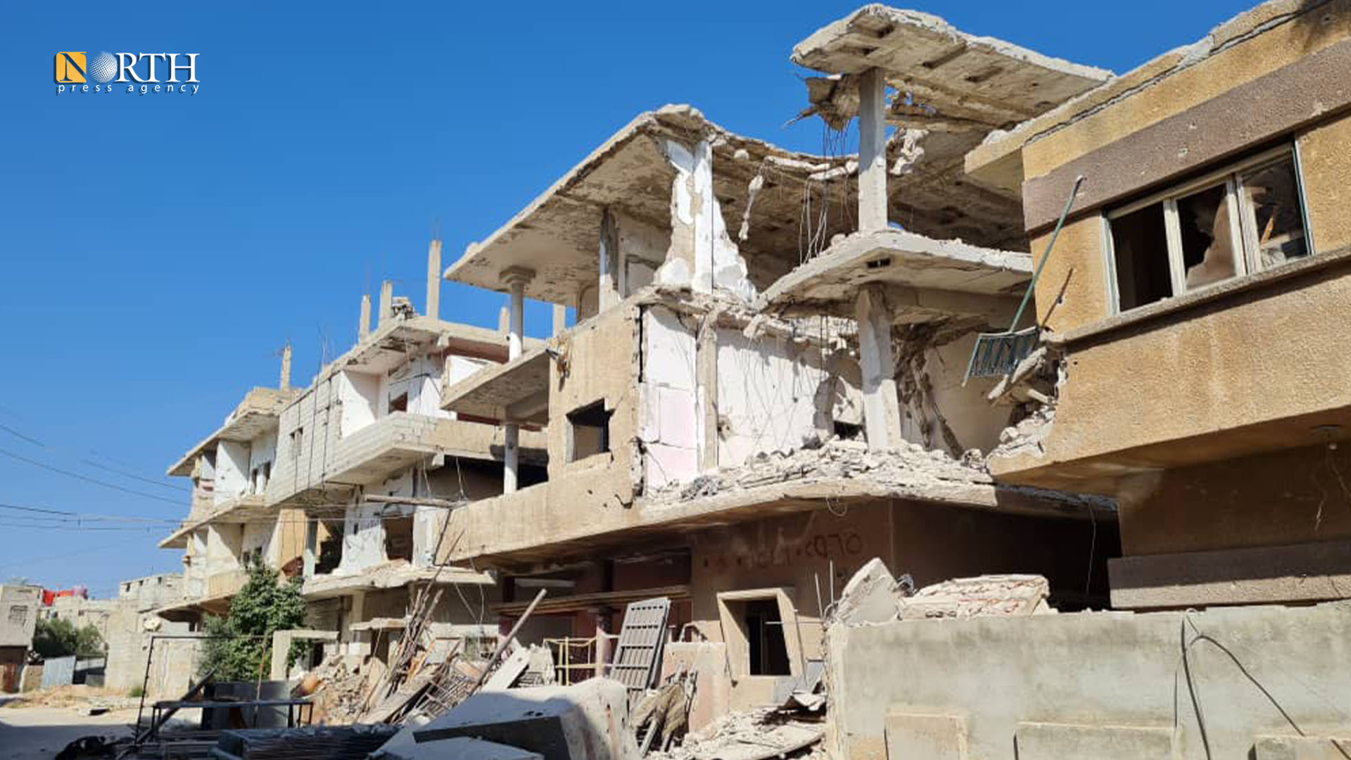 Houses in Daraa al-Balad bombed by government forces and Iranian-backed factions – North Press