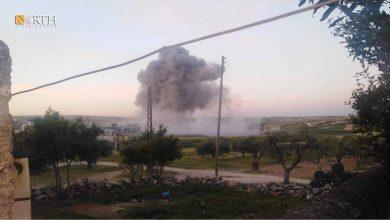 Photo of Russian airstrikes target Syria's Idlib, Latakia countryside
